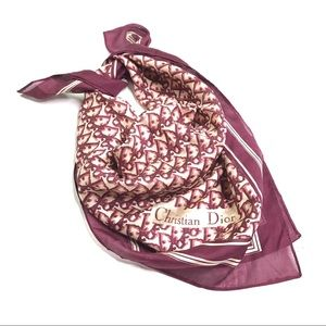 RARE Christian Dior Vintage Trotter Scarf